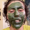 позеленела из-за маски для лица