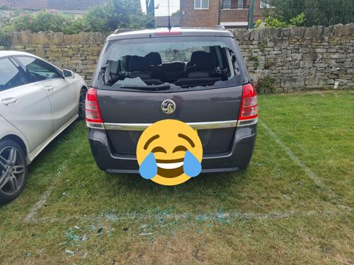 игрок в крикет повредил машину