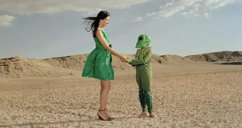 женщина влюбилась в инопланетянина