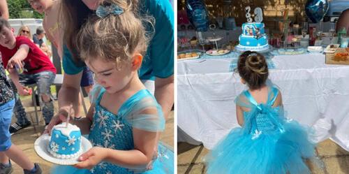 мини-торт на день рождения