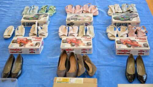 кража женской обуви