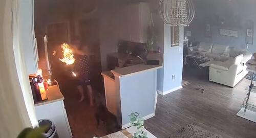 драматичное кухонное несчастье