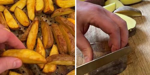 домашние чипсы из духовки
