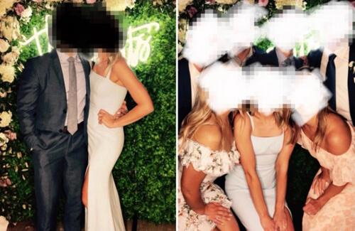 белый безвкусный наряд
