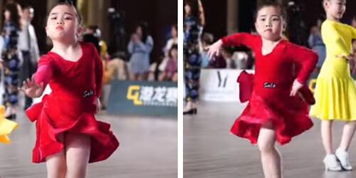 танцующая девочка и её призвание