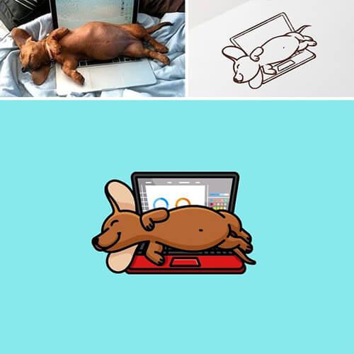милые логотипы с животными