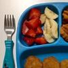 нездоровая еда для дочки