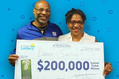 небольшой выигрыш в лотерею