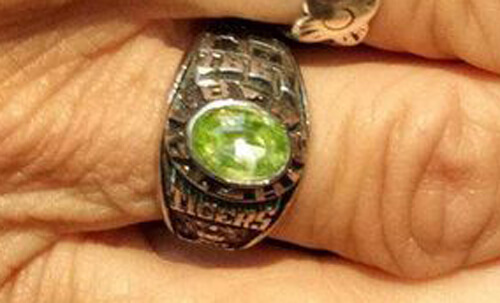 пропавшее кольцо вернулось