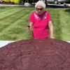 гигантское рекордное печенье