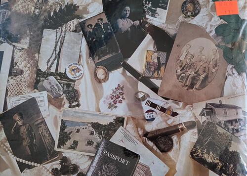 фотографии забытые в альбоме