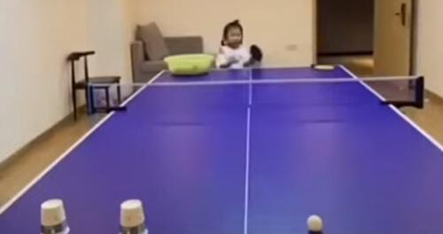 меткая игра в пинг-понг