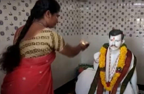 храм в честь погибшего мужа