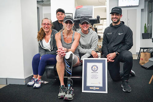рекорд на беговой дорожке