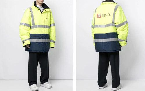 дорогая куртка строителя