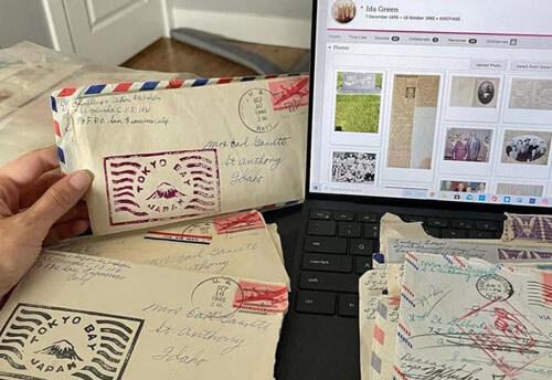 случайно купленные старые письма