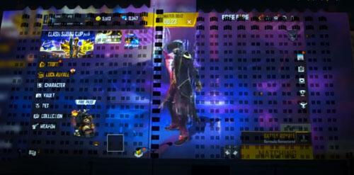 видеоигра на стене отеля