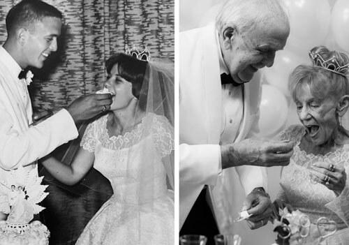 фотосессия пожилых супругов