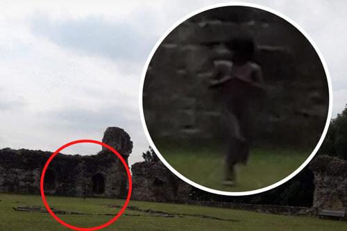 фото привидения из старого замка