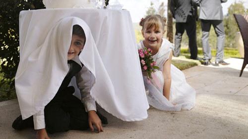 детей не пригласили на свадьбу
