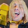 золотые цепочки в голове