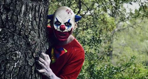клоуны заманивают на занятия