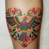 """""""Вышитые"""" татуировки сводят модников с ума"""