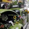 цветочный магазин в машине